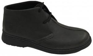 Mid C - Black Pitstop Leather