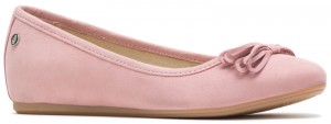 Heather Bow Ballet - Ash Rose Nubuck
