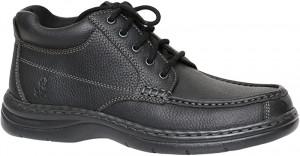 Achieve Mid Moc - Black Leather