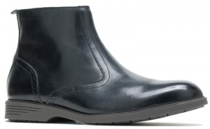 Shepsky Zip Boot - Black Leather
