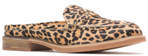 Bailey Penny Mule - Leopard Calf Hair