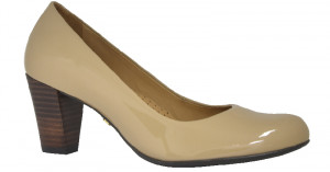 Alegria - Nude Patent Leather