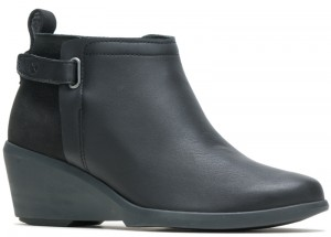 Mariya Strap Bootie - Black Shield Leather