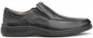 Cushion MT Slip-On - Black Leather