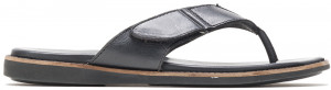 Howston Toepost - Black leather