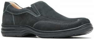 Bullmatian SlipOn - Black Nubuck