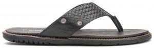 Dubai Toepost - Black Leather