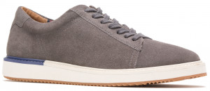 Heath Sneaker - Dark Grey Suede