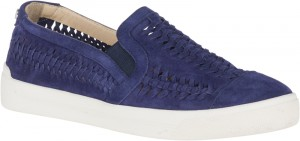 Gabbie Woven Slip-On - Royal Navy Suede