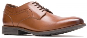 Mudi PT Oxford - Dark Tan Leather
