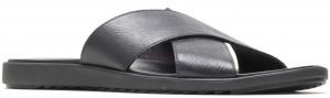 Holden Xband Slide - Black Nubuck
