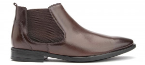 Vellar Chelsea Boot - Brown Leather
