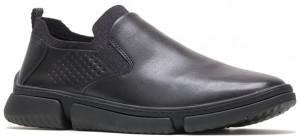 Bennet Plain Toe Slip-On - Black Leather