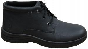 Achieve Mid PT - Black Pitstop Leather