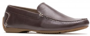 Schnauzer SlipOn - Dark Brown Leather