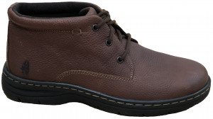 Achieve Mid PT - Brown Pitstop Leather