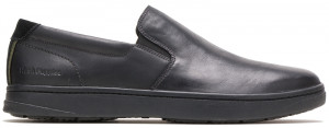 Rocco SlipOn - Black leather