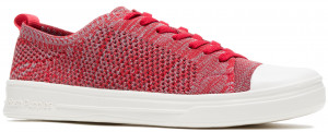 Schnoodle Lace Up - Fiery Red Multi Knit