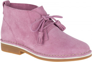 Cyra Catelyn - Dusty Orchid Suede