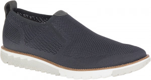 Expert MT SlipOn - Dark Grey Knit Nubuck