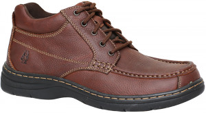 Achieve Mid Moc - Brown Leather