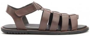 Dubai Open Toe Fisherman - Brown Leather