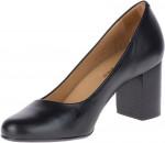 Cavalon Pump - Black Leather